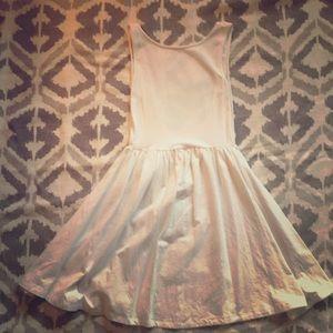ASOS white cotton skater dress
